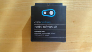 New Crank Brothers Pedal Refresh Rebuild Kit
