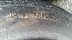 5 winter tires on rims Peterborough Peterborough Area image 4