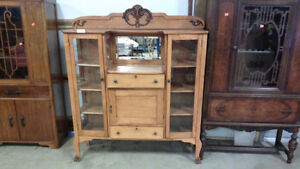 Canadiana Side By Side Buffet Cabinet