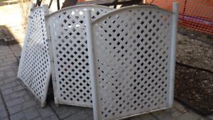 Porte / barrière plastique