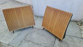 2 x quad electrostatic speakers