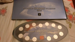 Millennium 2000 coin set(including 13 coins), mint condition,$20