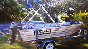 Boat/ Tinnie Ally craft 375 coby + 18 Tohatsu Cooroy Noosa Area Preview
