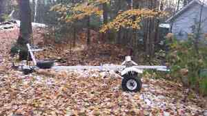 Aluminum or small boat trailer 15ft
