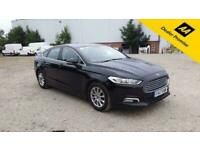 2017 Ford Mondeo 2.0 ZETEC ECONETIC TDCI 5d 148 BHP IN BLACK WITH 87,000 MILES A