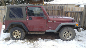 2003 Jeep TJ Sport SUV, Crossover