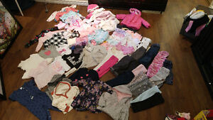 6-12m baby girl clothing. Excellent condition. 73 items.