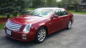2007 Cadillac STS AWD, Navigation, Sunroof, 4.6L. Sold AS IS
