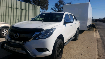 Mazda BT50 Canberra City North Canberra Preview