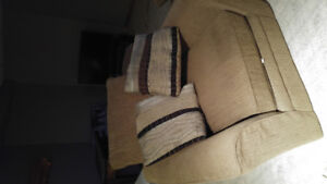 2 couches and comfy chair