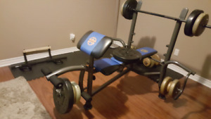 Bench press and free wieghts