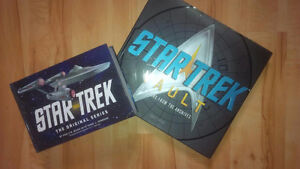"Two ""Star Trek"" Books - both for $20 o.b.o."