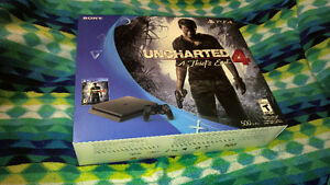 SONY PLAYSTATION 4 - UNCHARTED 4 - NEW UNOPENED BOX London Ontario image 1