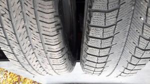 4 tires.  Snow . 2 all season. 195/65/15