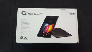 "Fido LG G Pad IV 8"" 32GB Android 7.0 LTE Tablet"