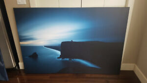 """Huge canvas photo print by local photographer - 40""""x60"""""""