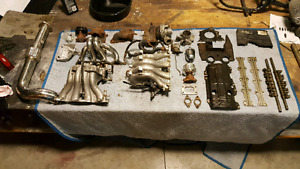 Parting Out Honda B18C1 Engine