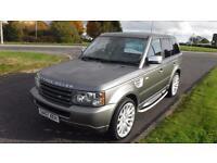 "Land Rover Range Rover Sport 2.7TD V6 auto 2007,22""Alloys,Black Leather,Privacy"