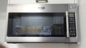 Maytag Stainless Steel Over-The-Range Microwave