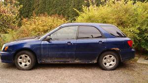 2002 Subaru Impreza TS Familiale ---POUR MÉCANICIEN---