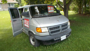 used doge van 2002