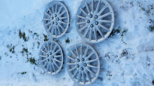 Snow tires rims and covers