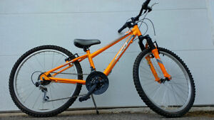 Rarely used 24in NORCO bike