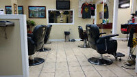 Experience Barber wanted or Chairs for rent