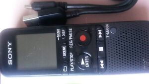 SONY ICD-PX333D Digital Flash Voice Recorder