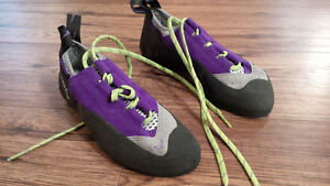 Never used Evolv Women's Climbing Shoes