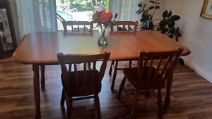 Table 4 Chairs and Hutch