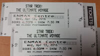 Two Tickets to Star Trek The Ultimate Voyage Concert