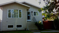 Main Floor Large 3 Bedrooms with Private Laundry and Dbl Garage