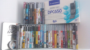 Psp games and movies!!