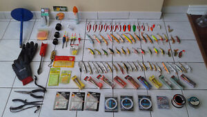 FISHING ROD & REEL , LURES, TACKLE ( NEW )