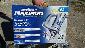 Mastercraft Maximum Spin Saw Kit
