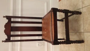Free dining chairs, mirror, throw pillows
