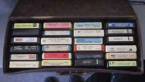 8 Track Case with 37 Tapes London Ontario image 1