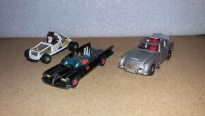 Diecast, Batman, Pingouin, James Bond, 60's- 70's.