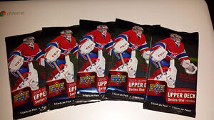 2015-16 Upper Deck Series 1 Hockey Card Packs