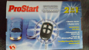 """REMOTE CAR STARTER  """"NEW IN  BOX""""BEST REASONABLE OFFER"""