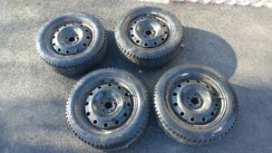 205/55/R16 Winter Tires & Rims Toyota Corolla 16""