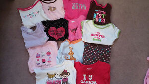 Girl's 6 months shirts