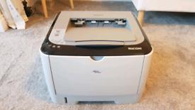 Ricoh Aficio mono laser printer PLUS 2x brand new sealed cartridges