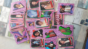 Micheal Jackson collectable bubble gum cards