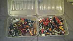 Transformers and Hotwheels + Containers