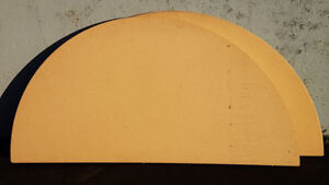 """Table Top, Round, Portable, easy store. 68"""" diameter,"""