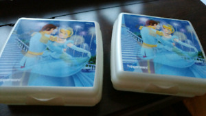 Tupperware Cinderella Sandwich containers