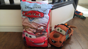 Cars fabric book and Mater