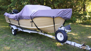16 Foot Starcraft Boat with 80 HP Mercury Outboard and Trailer